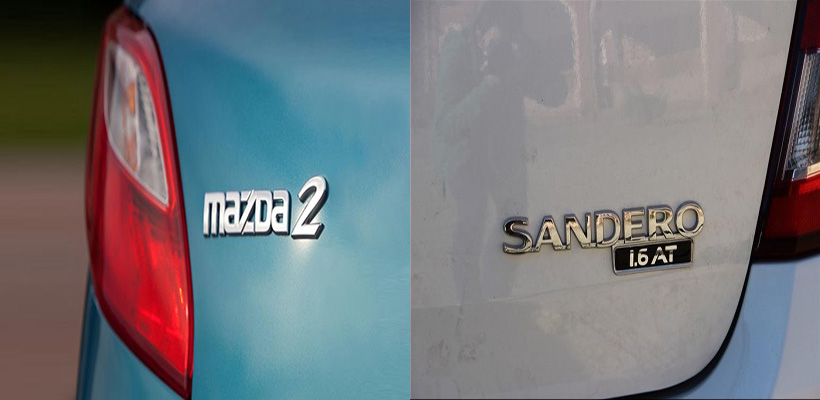 مقایسه مزدا 2 و رنو ساندرو
