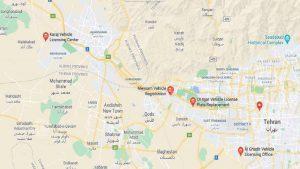 مراکز تعویض پلاک تهران کدام ها هستند؟