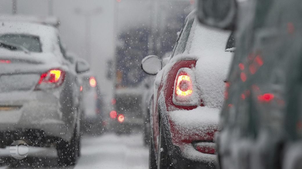 رانندگی در برف | همراه مکانیک