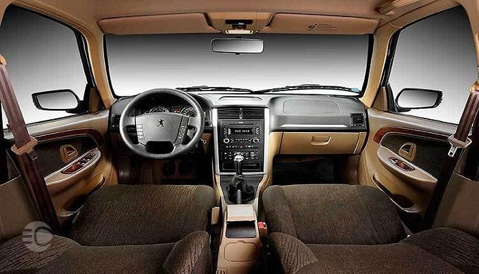 نمای داخلی پژو پارس سال میتواند یکی از دلایل خرید این خودرو باشد.