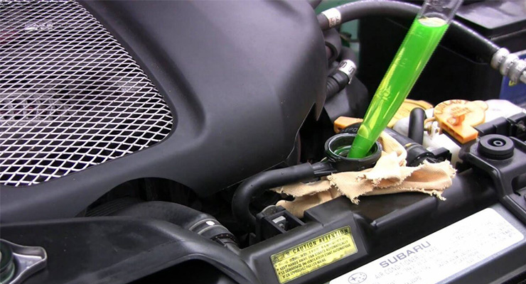 همه چیز در مورد ضد یخ خودرو