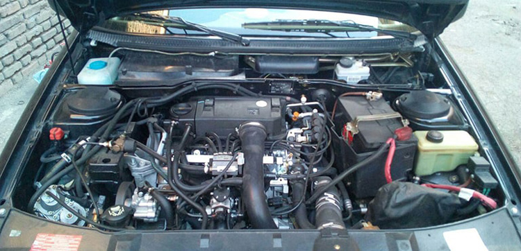 موتور پژو 405 SLX