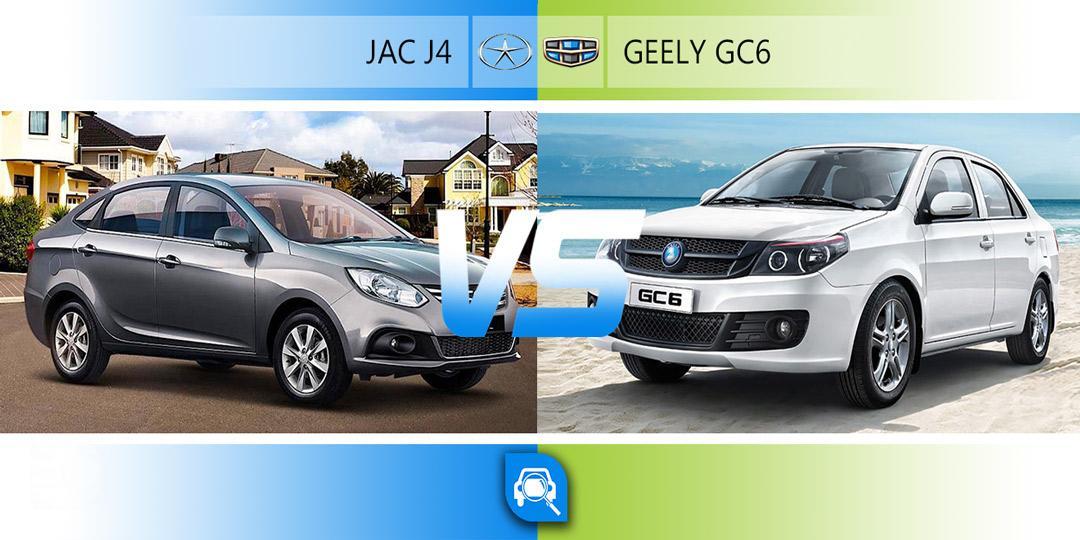 مقایسه جک j4 و جیلی Gc6
