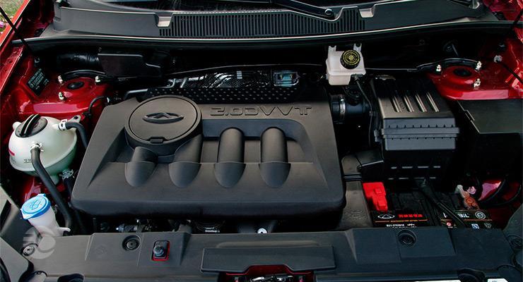موتور ضعیف تیگو 5
