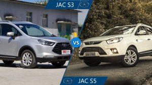 مقایسه جک S3 و جک S5