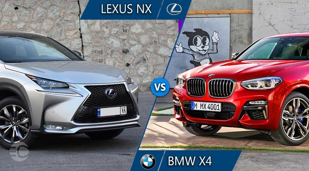 مقایسه لکسوس NX و بی ام و X4